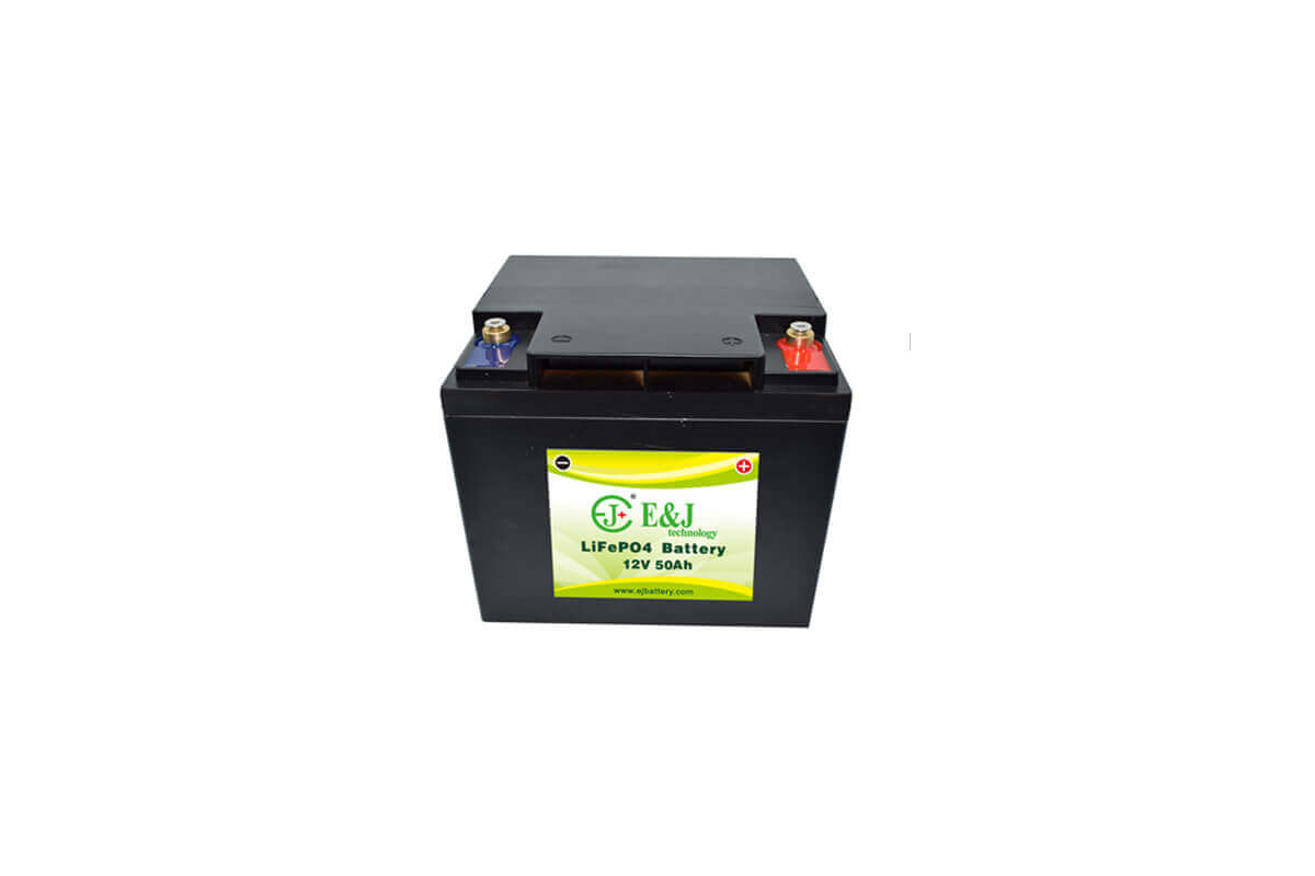12V 50AH lifepo4 battery mfg prismatic cell lifepo4 Lithium Ferro Phosphate solar RV led monitor battery packs