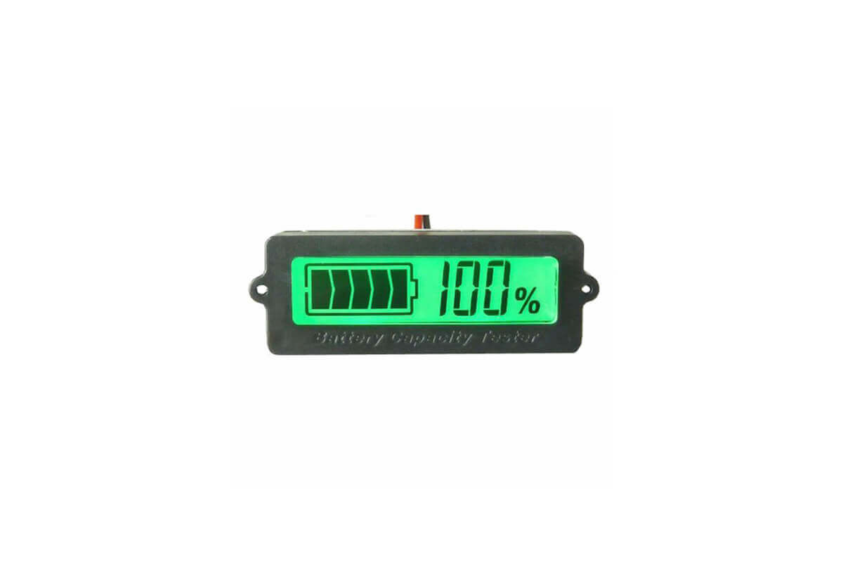 Universal Voltage-type Capacity Tester is designed to test the capacity of battery,and display them with intuitive battery symbol and percentage. It is suitable for instruments, measuring equipments, cleaning machines, balance cars, battery cars