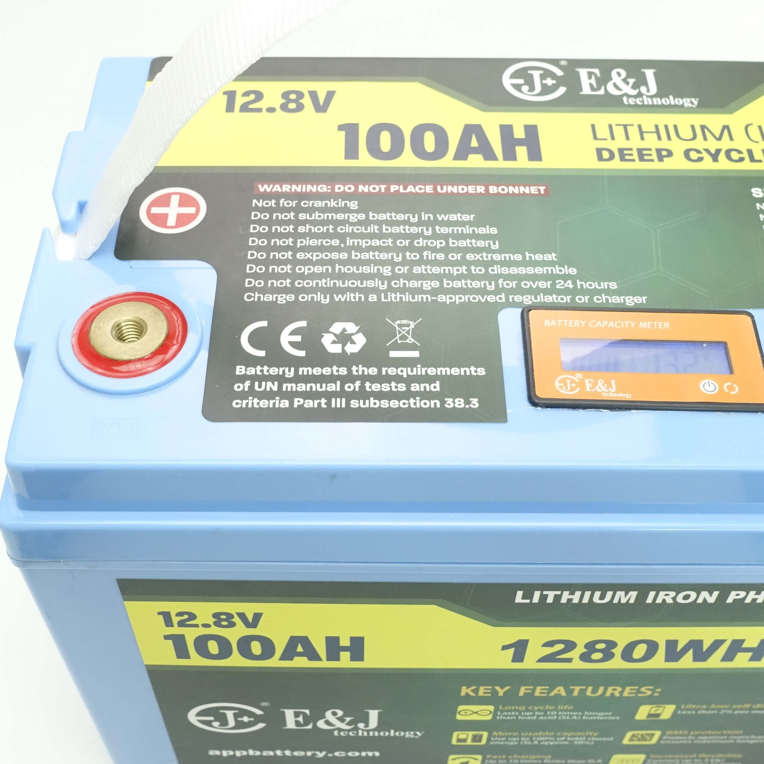 lithium ion deep cycle battery 12v