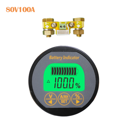 waterproof battery monitor with 100A shunt