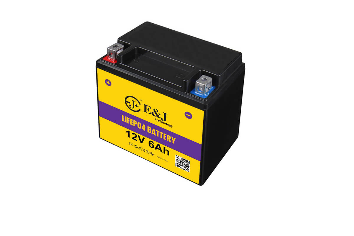 12V 6Ah 360 CCA lithium motorcycle battery