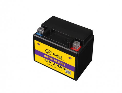 12V 2.4ah 144ca lithium motorcycle batteries