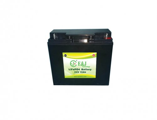 24V 10Ah 240Wh LiFePO4 battery pack