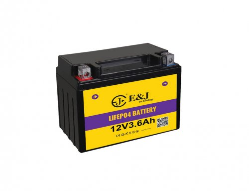 12V 3.6ah  216ca lithium motorcycle batteries