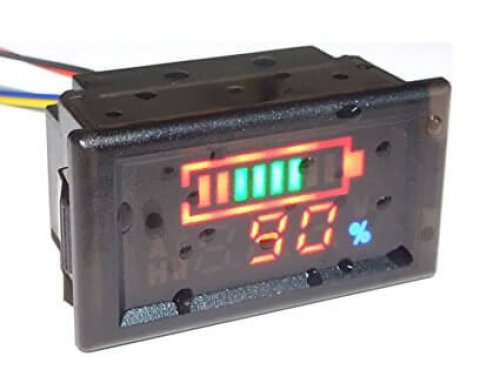 EJ-FG13 Waterproof Battery Capacity Indicator with TTL232, RS485