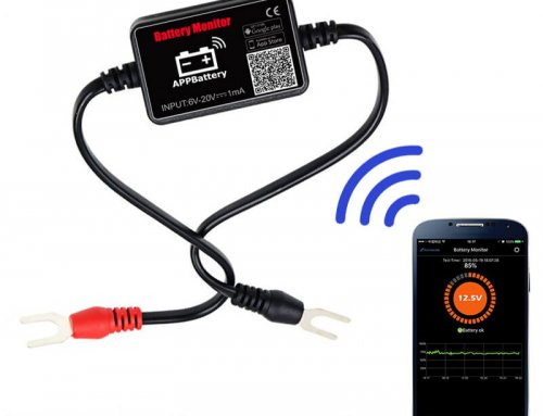 EJ-BM02 Automotive 12V Vehicle Battery Tester Bluetooth 4.0 Battery Monitor Diagnostic Tool