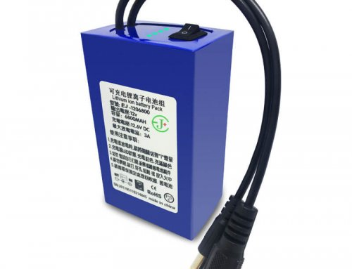 12v 6800mAh Lithium-ion battery pack with monitor on/off plug for portable digital camera