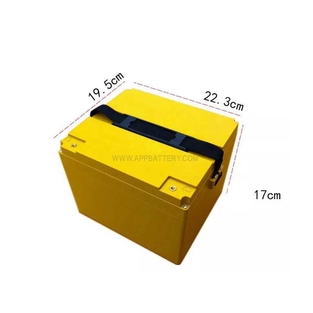 EJ60-20 Compact Battery box without grids for 60V lithium-ion battery pack