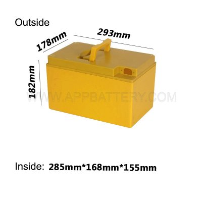 18650 14S8P Portable ev battery box Plastic case factory