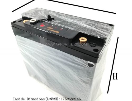 EJ-12V20C Empty SLA Battery box with battery capacity indicator for DIY Lithium ion 18650 battery pack