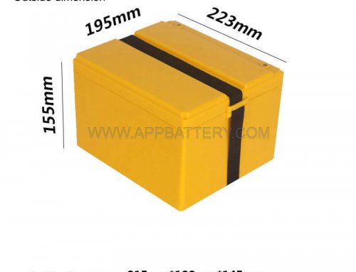 Custom 60v 20ah deep cycle battery Container for Li-ion 18650 4S 8S 14S pack