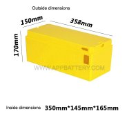 Large industrial battery box 48v 60v empty battery case supplier (4)
