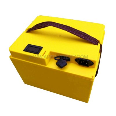 Waterproof box battery bank box with meter with charger port for lithium China manufacturer