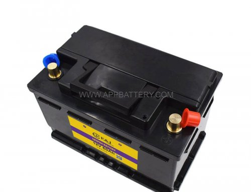 800A CCA 12.8V 60AH 768W LiFePo4 Battery Pack with BMS for Car Vehicle