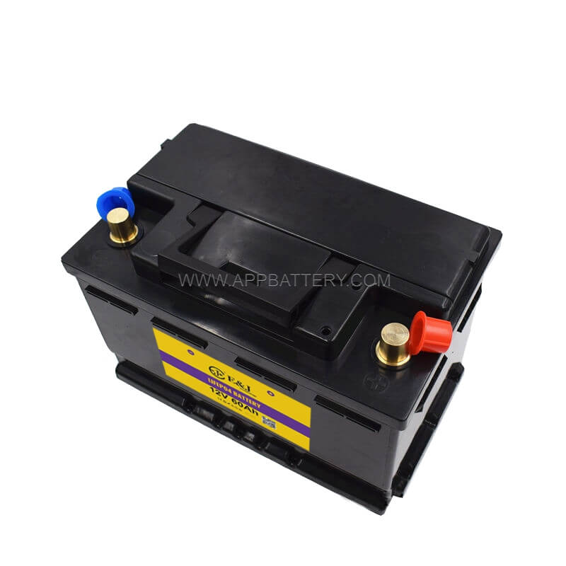 12.8V 60AH 768W LiFePo4 Lithium iron Phosphate Battery Pack for Car Vehicle Battery