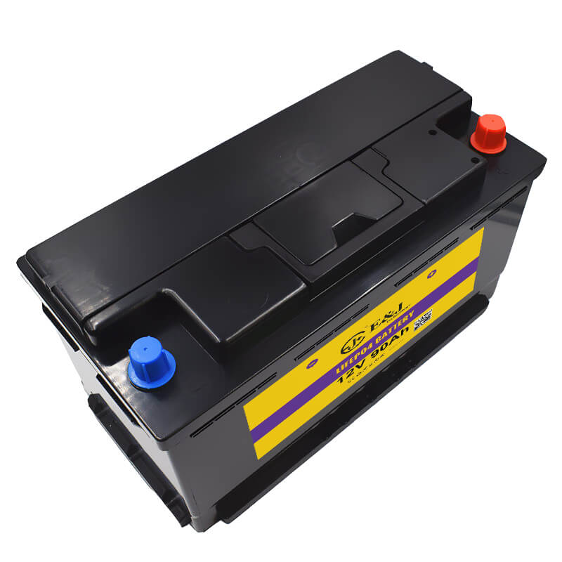 12.8V 90AH LiFePo4 Lithium iron Phosphate Battery Pack with BMS Board 1000A CCA