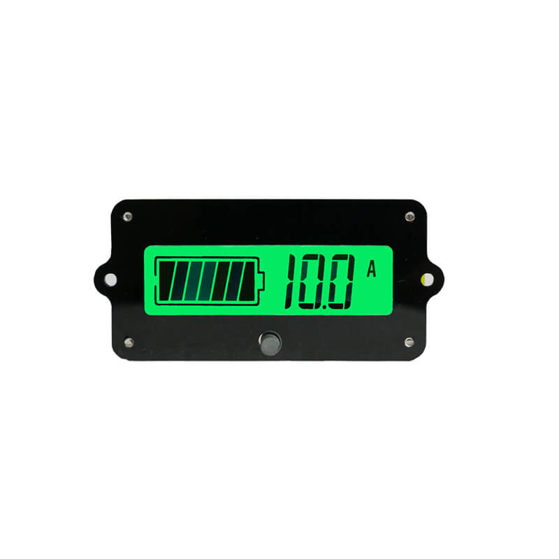 EJ-FG05V LCD Lithium Battery Lifepo4 lead acid iron Battery Monitor Capacity Indicator LCD Display Remaining Detector