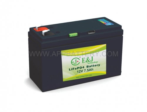 12.8V 7.5Ah Lithium Iron Phosphate (LiFePO4) Rechargeable Lithium Battery With Smart SMbus Technology provides access to a battery histroy log.