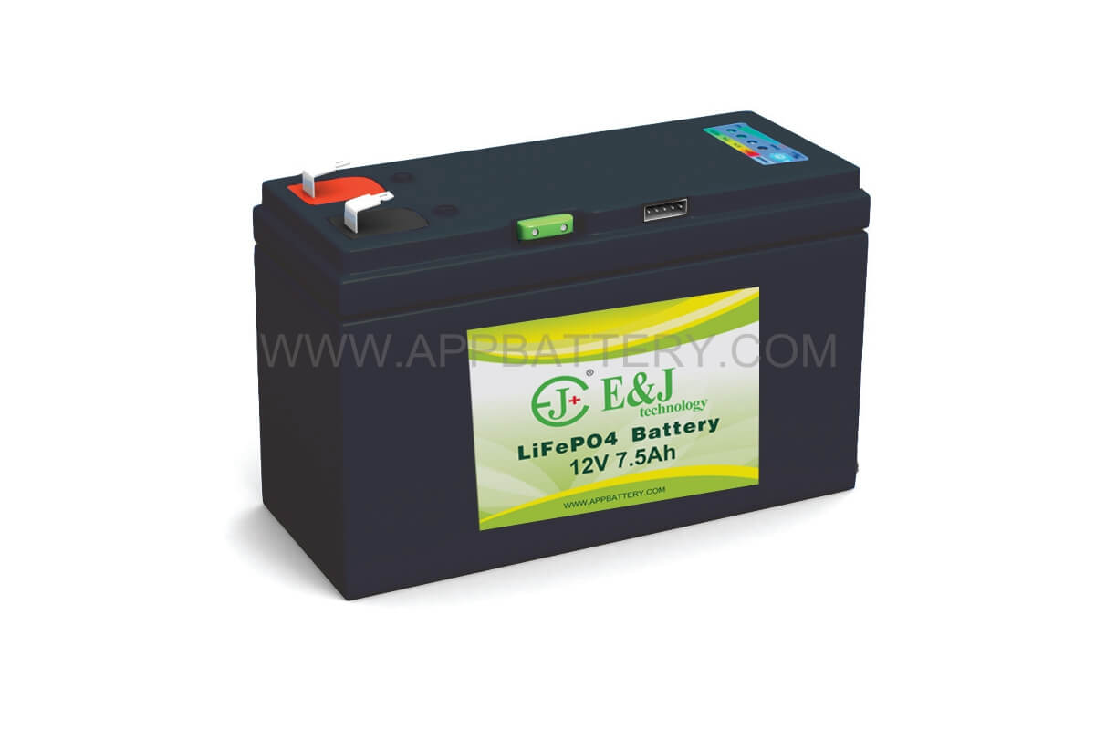 LiFePO4 12.8V 7.5Ah Lithium Iron Phosphate (LiFePO4) Rechargeable Lithium Battery With Smart SMbus Technology provides access to a battery histroy log