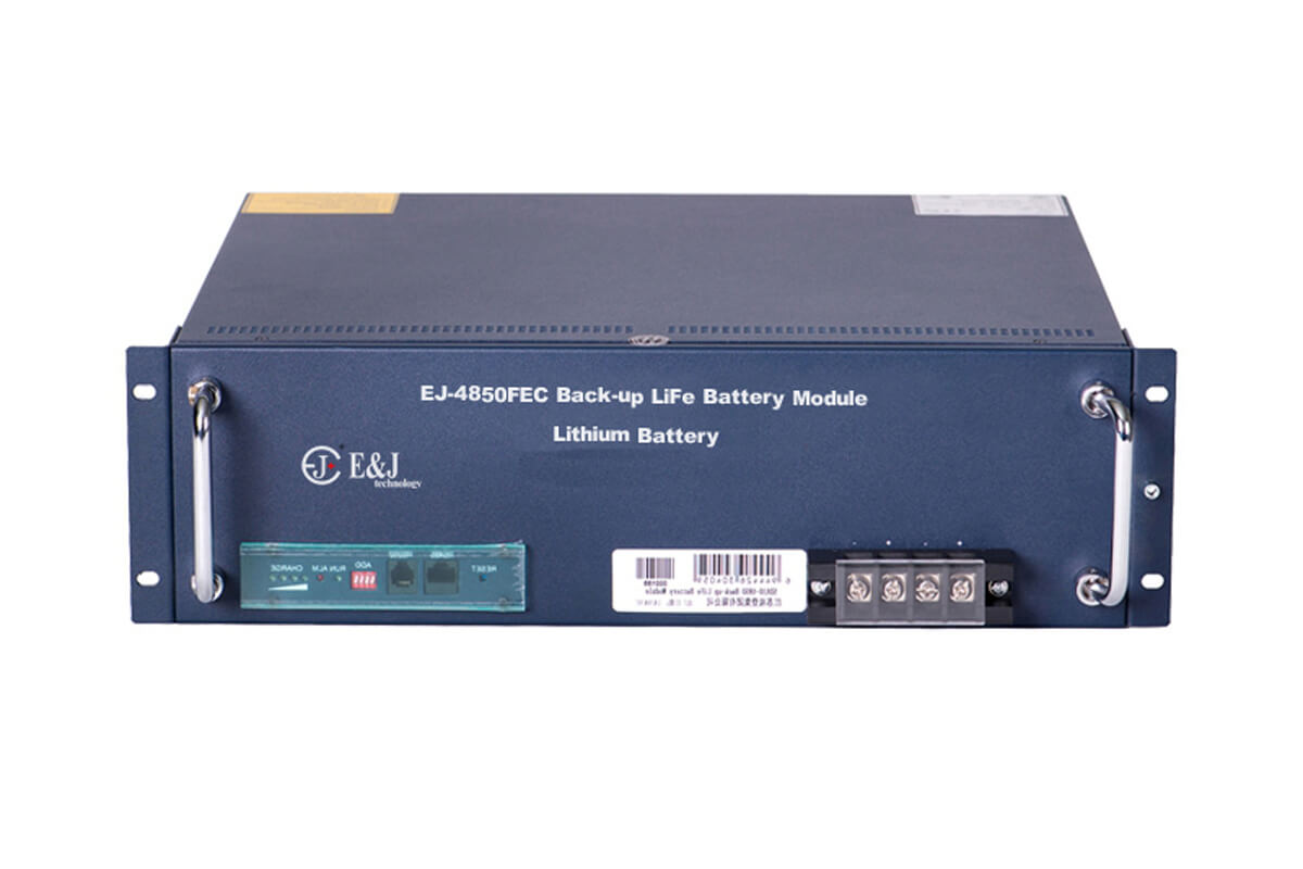 EJ-4850FECA 48v 50ah Back up LifePO4 battery