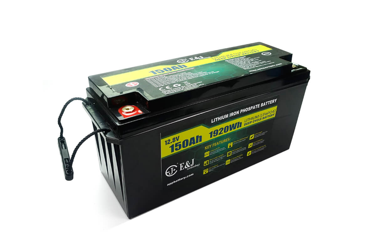 12.8V 150Ah lithium iron phosphate lifepo4 prismatic battery