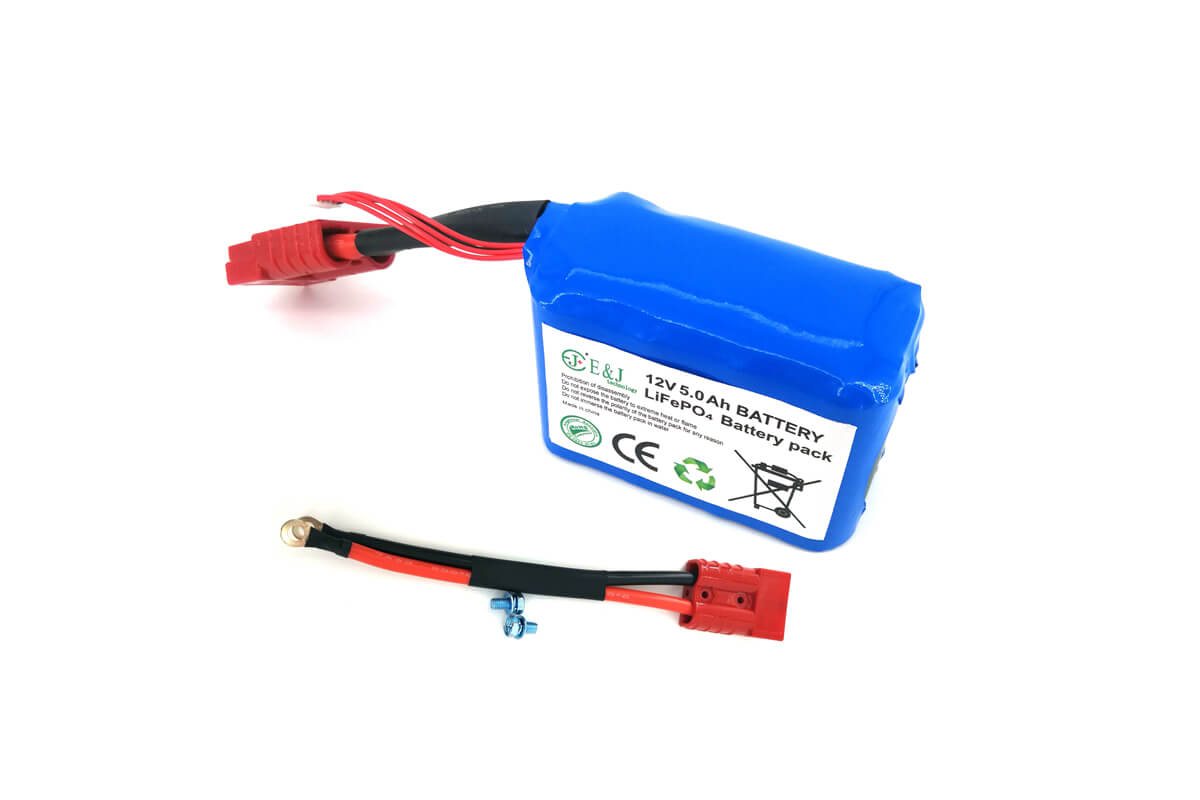 12v 5ah Motorcycle Starter Lithium Battery A123 Lithium Iron Phosphate Rechargeable Battery Pack
