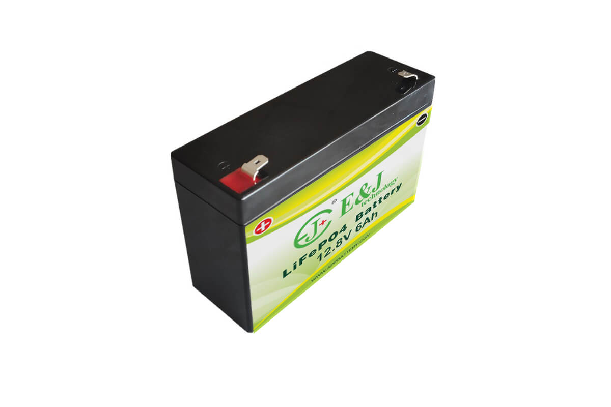 LFP 12.8V 6Ah LiFePO4 battery pack 4S1P 32650 Lithium-ion replace SLA 12V Sealed Lead Acid Batteries