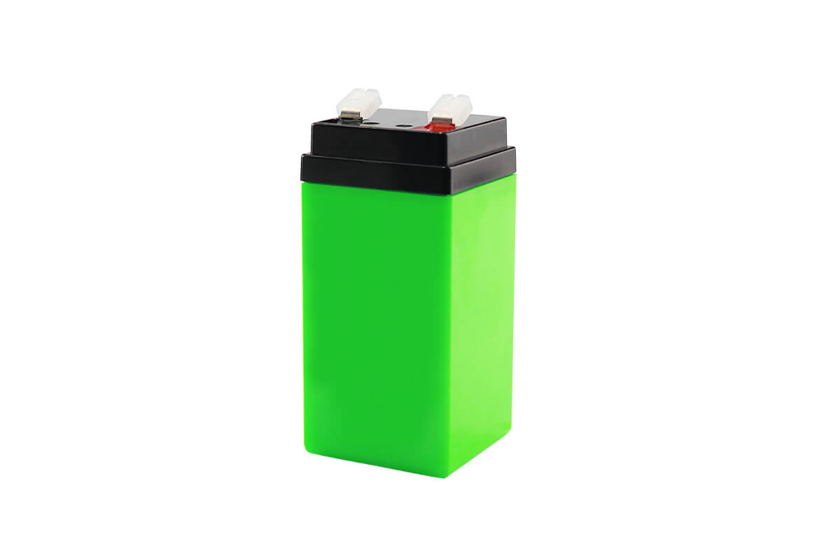 LFP 6.4V 3Ah LiFePO4 battery pack 2S2P Lithium-ion replace 6V SLA Sealed Lead Acid Batteries