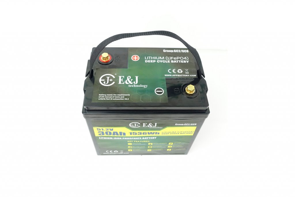 GC2 Golf cars lithium battery