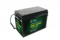 12.8v 280ah solar LiFePO4 battery lithium iron phospate deep cycle battery pack for solar marine RV camping