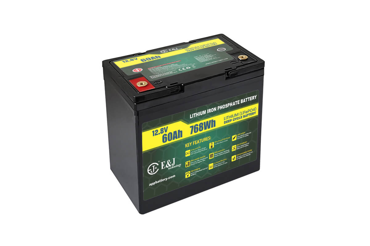 Deep cycle battery Lithium 12V 60Ah LiFePO4 replacement 55Ah for 21st Century 1BB electric wheelchair